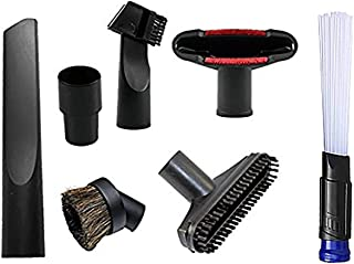 ANBOO Universal Replacement 32mm (1 1/4 inch) Vacuum Cleaner Accessories Brush Kit for Standard Hose Set of 7