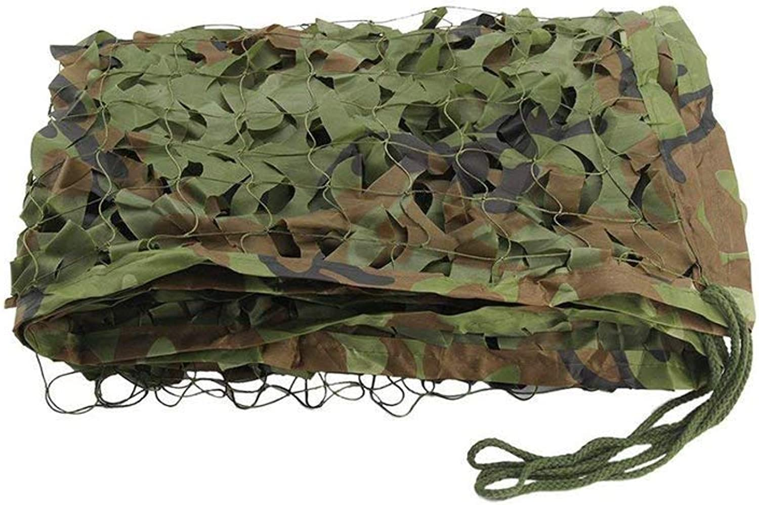 Forest Camouflage Netting Oxford Net Predection Air Defense Camouflage Outdoor Preparation Camping Camping Party Decoration Hidden Camp Shelter Tent Camouflage Cover (3  3m) (Size   6  6m)