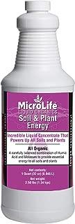All Organic Soil & Plant Energy Food Liquid Concentrate Humic/Fulvic Acid & Molasses Soil and Foliar Spray Root Stimulator (32 oz)