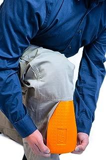 TSE Safety TSE-PPKS TSE-PRO Pocket Knee Savers, One Size, Hi-Viz Orange