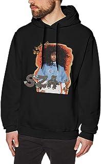 Yestrong Mens 3D Graphic SZA Ctrl Long Sleeve Sweatshirt