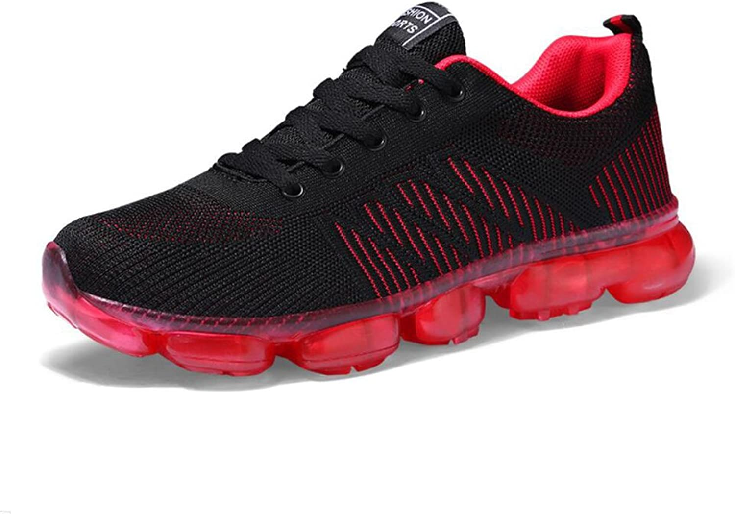 XUE Men's shoes Knit Fall Comfort Athletic shoes Running shoes Outdoor Walking shoes ,Casual Breathable,Fitness shoes (color   A, Size   44)