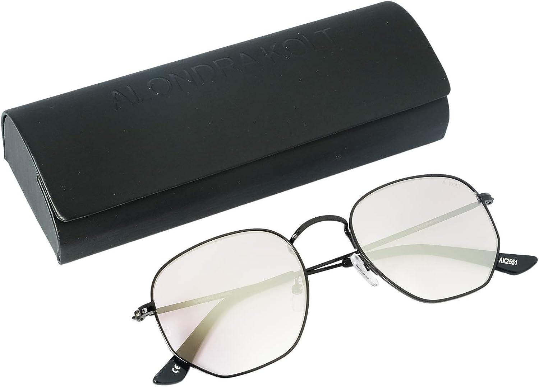 Alondra Kolt x HIGHKOLT The Hexagon Sunglasses - Diff Vision DV-39 UV400 Predection, 51mm AK2551