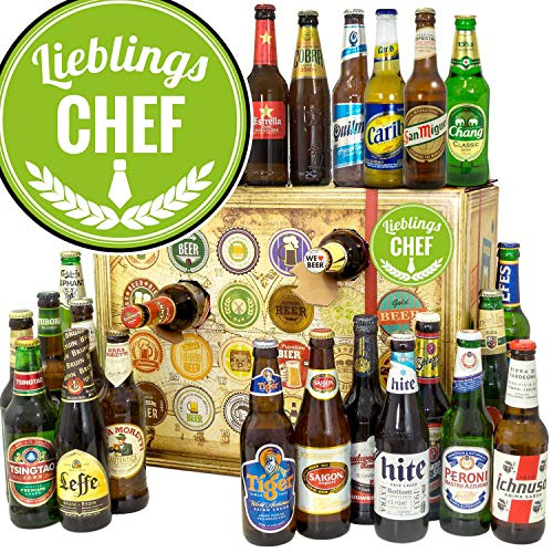 Lieblings - Chef - Bieradventskalender 2019 - Bier aus aller Welt