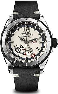 Armand Nicolet Gents-Wristwatch S05 GMT Date Analog Automatic A713AGN-AK-PK4140NR