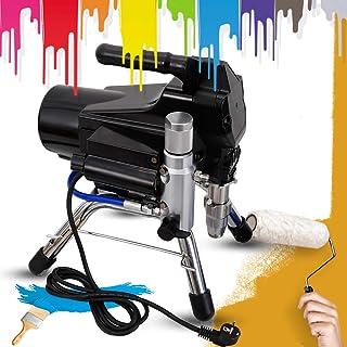 2200 W Airless färgspruta spruta högtryck Paint Spraying Machine 2,5 L/M för väggfärger, lacker, glasyrer, trä- och korros...