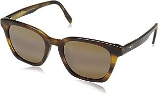Maui Jim Sunglasses | Shave Ice 533 | Rectangular Frame, Polarized Lenses, with Patented PolarizedPlus2 Lens Technology
