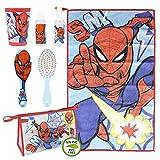 Cerdá, Neceser Set Aseo/Viaje Spiderman Unisex niños, Multicolor, 7.0 X 16.0 X 23.0 CM