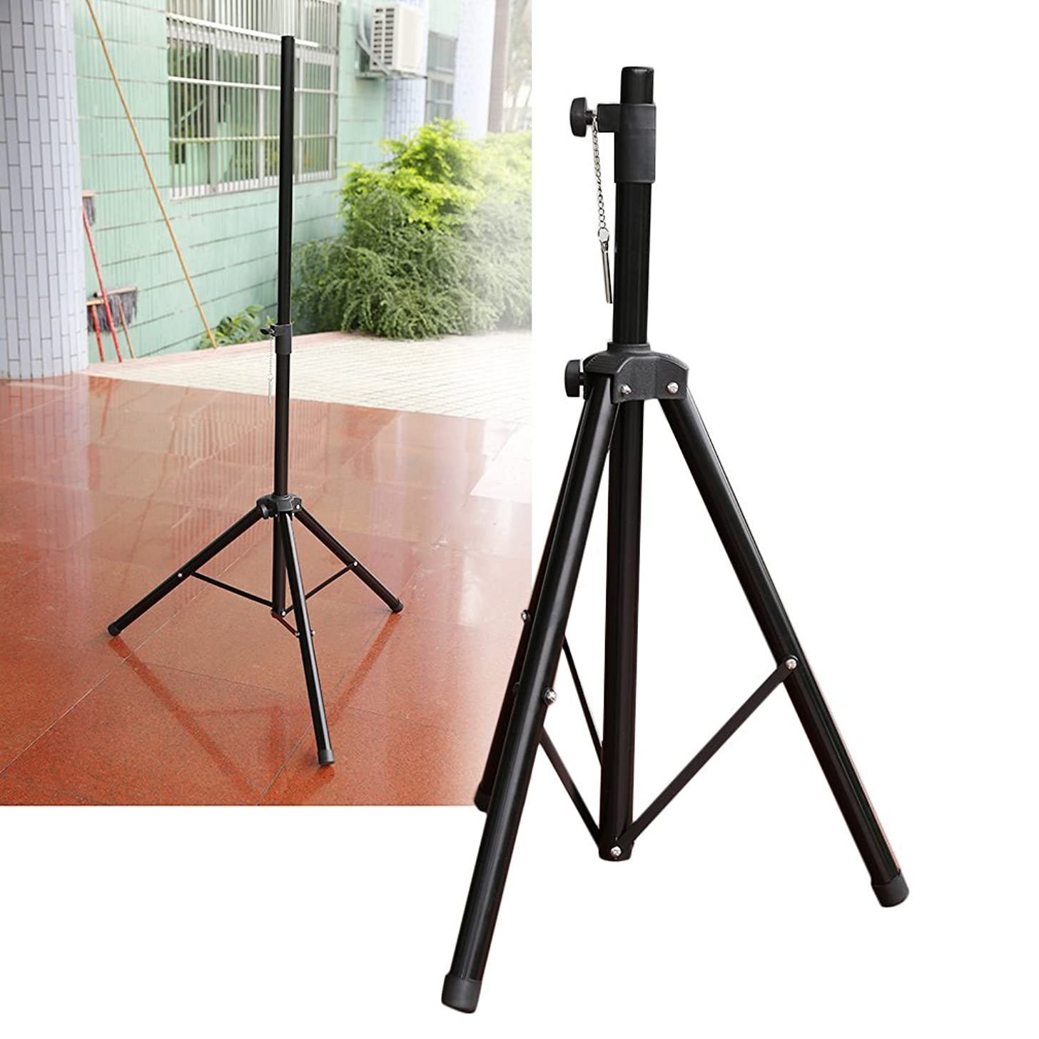 Coldcedar Heavy Duty Speaker Stands Pair Pro Adjustable Height Tripod Speaker stands Pole-Mount DJ PA Speaker Stand (Pack of 2)