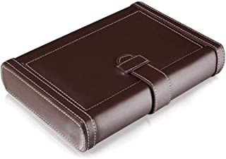 Smoking Set/Cigar Accessories The Cigar Box Can Hold 4 Cigars. Portable Travel Leather Suitable for Cigar Lovers Men Decor...