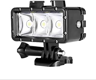 Orsda Underwater Diving Light 30M Impermeable 3 LED Lámpara de buceo Video light hight Power Dimmable luces de cámara de buceo