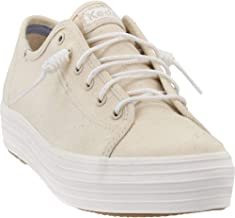 Keds Womens Triple Kick Laces Casual Sneakers,