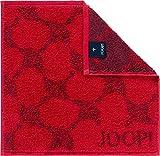 Joop! Handtücher Cornflower 1611 Rubin - 24 Seiflappen 30x30 cm