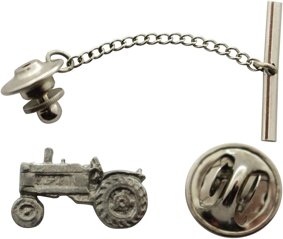 Sarah's Treats Treasures Max 71% OFF Tractor Tie ~ Antiqued Pewter Tack wholesale