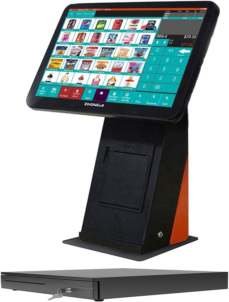 MEETSUN A5 Cash Register 15.6 inch True Scr Windows Al sold out. 5% OFF 7 Flat Touch