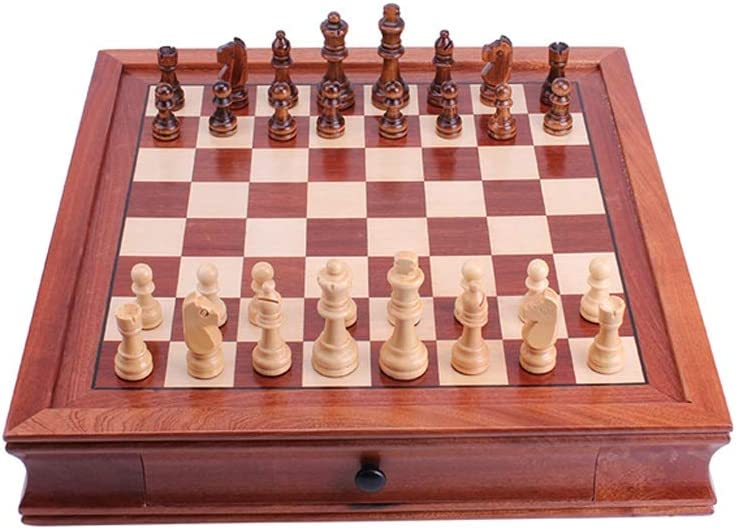 YHYH Chess Magnetic Wooden Set for and fo Spasm price Kids Game Adults Some reservation
