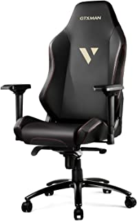 GTRACING Big and Tall 400lb Gaming Chair Racing Computer Gamer Chair with Fully Foam, Esports Game Chair, PU Leather Executive Office Chair Luxury Series