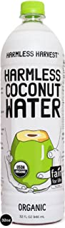 Harmless Harvest, Organic Coconut Water, Original Flavor, 32 oz, (Pack of 6)