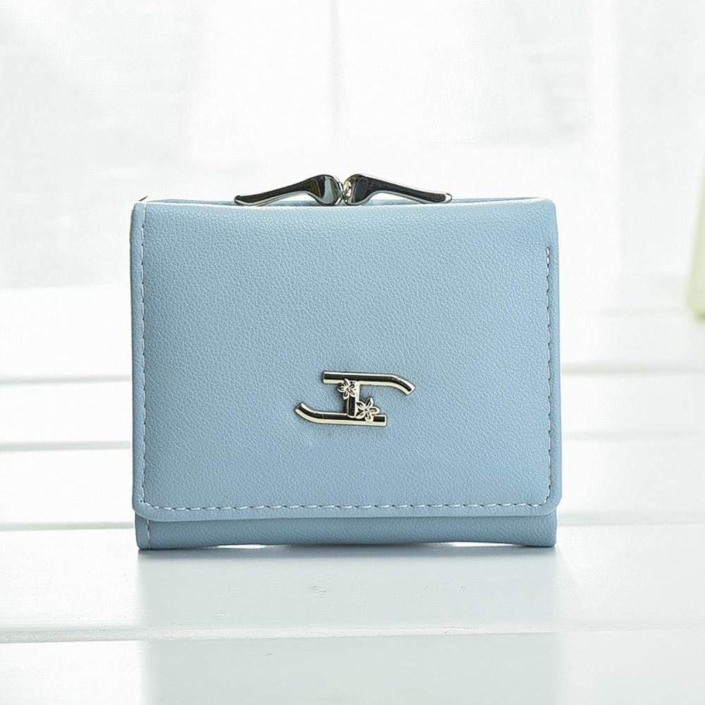 Girls Purse Women's Wallet,Ladies Wallet Short 30 Percent Student Small Wallet (color   A)