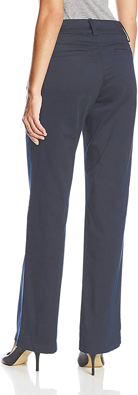 Lee Womens Petite Modern Series Curvy Fit Maxwell Trouser