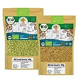 BIO Anis + BIO Fenchel | Anissamen Fenchelsamen BIO Gewürze-Set | Teegewürz Pur | Für Gesunde Küche und Tee | Organic Bio-zertifiziert DE-ÖKO-039 | 200g (2x100g)