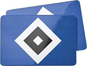 "HSV Hamburger SV Frühstücksbrettchen "" Raute &"