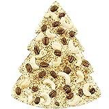 ChocoTannenbaum aus weißer Schokolade mit Kaffee - dekorierte Schokoladentafel in Form eines...