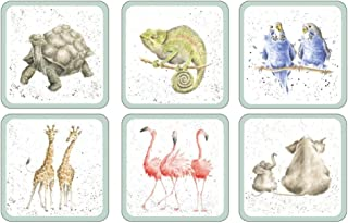 Pimpernel Wrendale Designs Collection Coasters - Set of 6