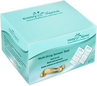 15 Pack Easy@Home 5 Panel Instant Drug Test Kits – Testing Marijuana (THC), COC,..