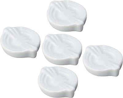 光洋陶器 千代結び 箸置き 白 5個セット 56400051(5)