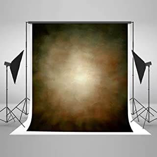 Kate 10ft(W) x10ft(H) Abstract Photography Backdrops Microfiber Brown Portrait Photography Studio Background