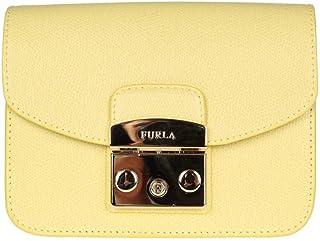 فورلا حقيبة للنساء-اصفر - حقائب طويلة تمر بالجسم