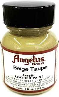 Angelus Acrylic Leather Paint - 1 Ounce, Beige Taupe