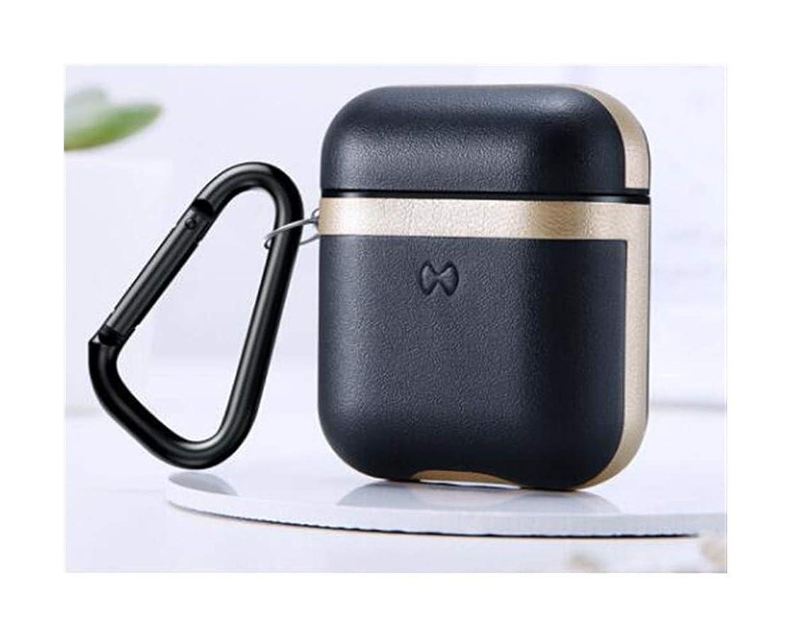 会う効果的カエルKaiyitong001 イヤホンセット、Airpods保護カバー1/2世代ワイヤレスBluetoothマット収納ボックス超薄型オールインクルーシブイヤホン保護カバー - ローカルゴールド ファッション (Color : Gold)