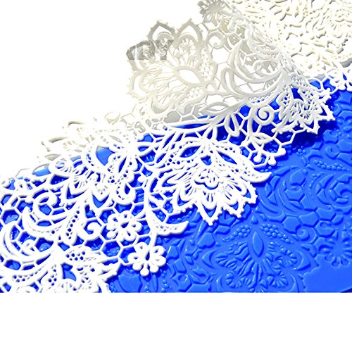 Star Silicone Lace Mat by Crystal Candy