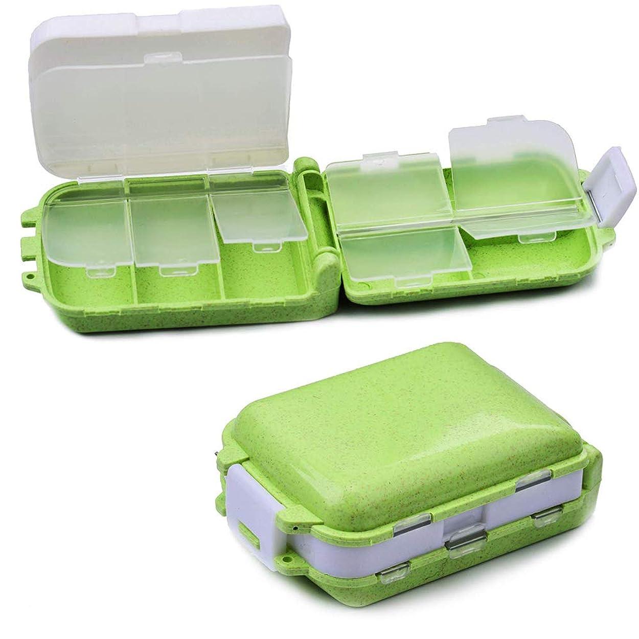 ポータブルピルケース 薬ケース ピルケース 3段分割 ピルケース くすり入れ 薬入れ 携帯 常備薬 収納 コンパクト