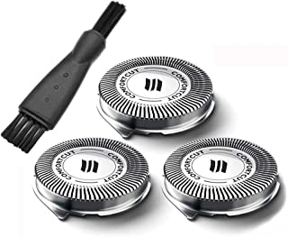 TYZEST Shavers Replacement Blades for Philips Norelco SH30/52 Replacement Heads Compatible with Philips Norelco Series 3000,2000,1000 Shavers and S738 Click & Style