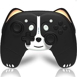 Mando Inalámbrico Compatible con Nintendo Switch, Maegoo Mando Switch Pro con 6 Ejes Gyro Turbo y Función Vibración Dual, ...