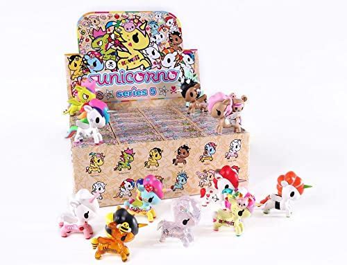 60% de descuento Tokidoki Full Case Of 24Unicorno Series 5Blind Box Box Box Vinyl Mini Figures  tienda de bajo costo