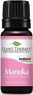 Plant Therapy Manuka Essential Oil 10 mL (1/3 oz) 100% Pure, Undiluted, Therapeutic Grade