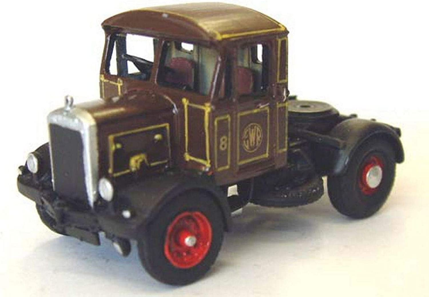 Langley Models Scammell 45cD tractor unit 1939 OO Scale UNPAINTED Model Kit G85