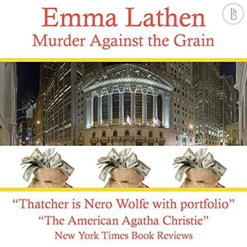 Murder Against the Grain audiobook cover art