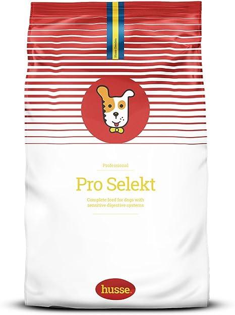 Husse - Pro Seleckt 20kg | Pienso para Perros | Función Gastrointestinal | Pienso sin Gluten | Sabor Pollo | Alta Callidad de Ingredientes
