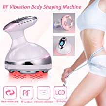 Fat Remover Machine 4 in 1 Body Shaping Machine RF VibrationMachine Red Light Weight Loss Massager for Stomach Radio Frequency Skin Tightening Machine with Smart LCD Display