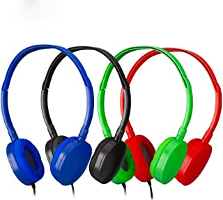 $20 » Sponsored Ad - Bulk Headphones Kids Headphones for Kids,Kids Headphones Grils,Boys -YMJ Headphones Kids(Y4 Color Mixed Pla...