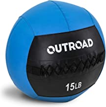 Outroad Slam Ball or Wall Ball Textured Surface Fitness Gym Equipment for Strength and Conditioning Exercises, Cross Train...