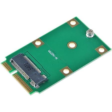 M.2 NGFF SATA 30/42mm SSD → mSATA 50mm SSD 変換アダプター