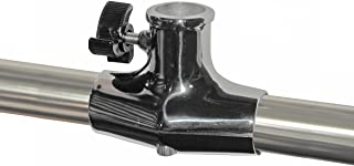 Taylor Made Products Flag Pole Sockets, Rail Mount, Stainless Steel