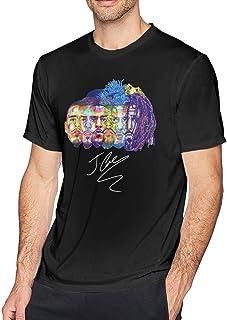 FAEOT Mens Classic Evolution of J Cole Design T-Shirts Black