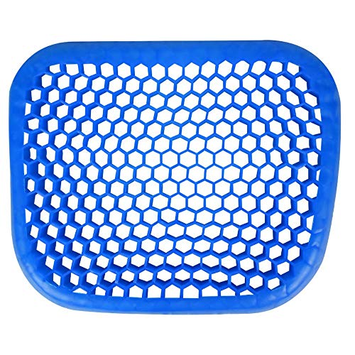 YLiansong-home Seat Cushion Chair Cushion Gel Seat Cushion Cool and Ventilated Non-Slip Gel Seat Cushion for Coccyx Pain Washable Lid (Color : Blue, Size : 42X34CM)